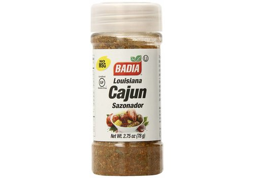 Badia Louisiana Cajun Seasoning, 78g
