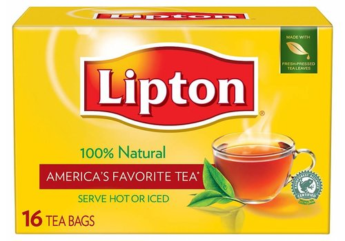 Lipton Tea Bags, 16 pcs