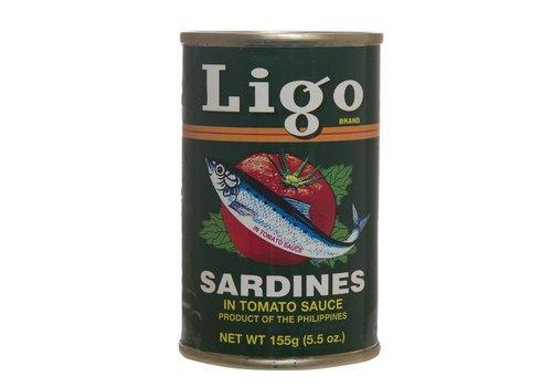 Ligo Sardines in Tomato Sauce, 155g