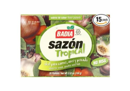 Badia Sazon Tropical, 100g