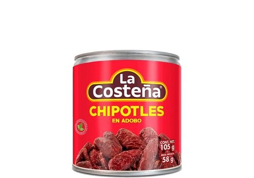 La Costena Chipotle peppers, 199g
