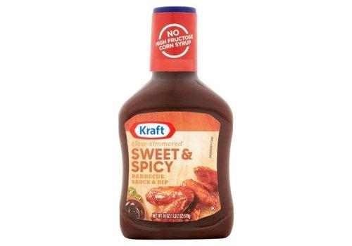 Kraft Sweet & Spicy BBQ Sauce, 510g