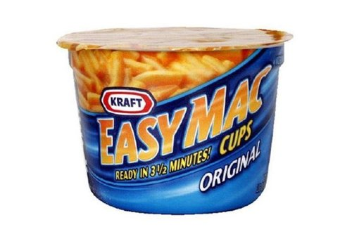 Kraft Easy Mac Cups Original, 57g