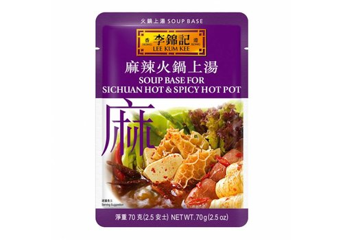 Lee Kum Kee Hot Pot Base Sichuan Spicy, 40g
