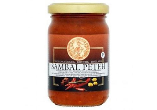 Koningsvogel Sambal Peteh, 375g