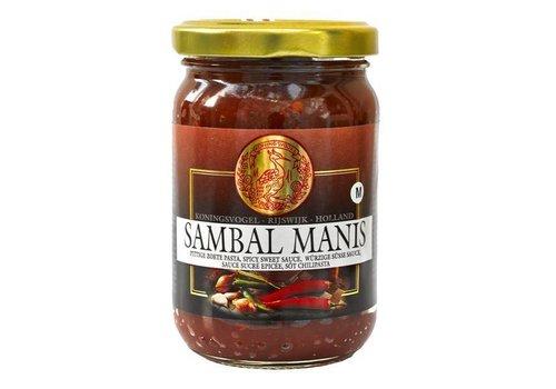 Koningsvogel Sambal Manis, 200g