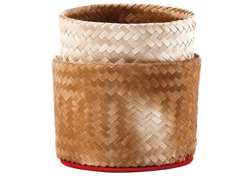 Bamboo Sweet Rice Box, 15cm