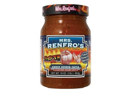 Mrs. Renfro's Ghost Pepper Salsa, 454g