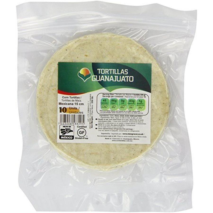 White Corn Tortillas 15cm, 10st