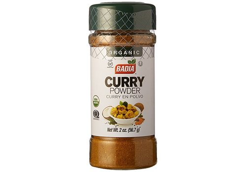 Badia Organic Curry Powder, 56g