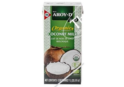Aroy-D Biologische Kokosmelk, 1L