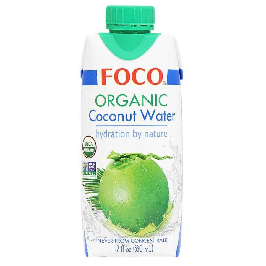 Organic Coconut Water, 330ml