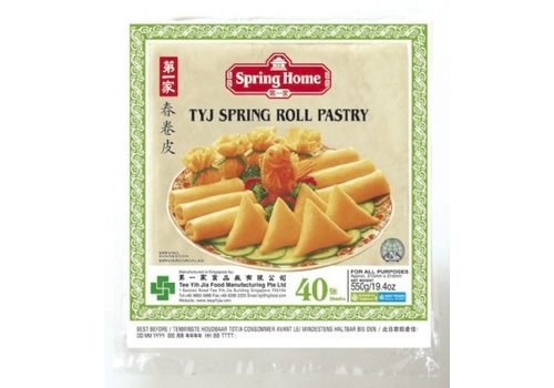 Spring Home Spring Roll Pastry, 40pcs