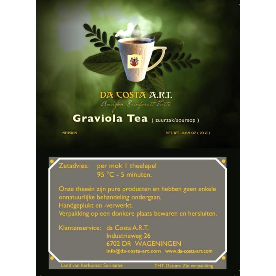 Graviola Tea (zuurzak/soursop), 25g