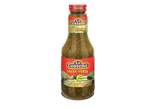 La Costena Salsa Verde Nopales, 475g