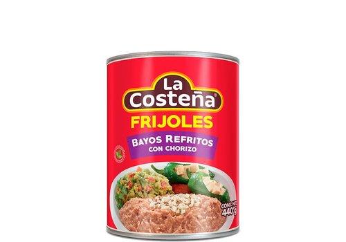 La Costena Refried Pinto Beans Chorizo, 440g