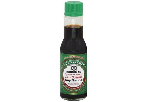 Kikkoman Less Sodium Soy Sauce USA, 148ml