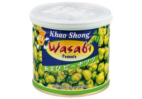 Khao Shong Wasabi Peanuts, 140g