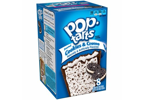Kellogg's Pop Tarts Cookies n Cream, 397g