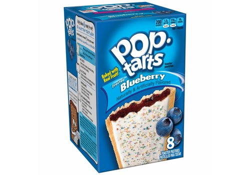 Kellogg's Pop Tarts Blueberry Frost, 397g