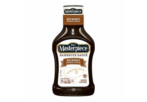 KC Masterpiece Hickory Brown Sugar BBQ Sauce, 510g