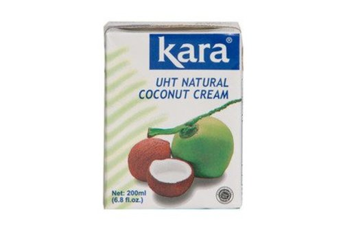 Kara UHT Natural Coconut Cream, 200ml