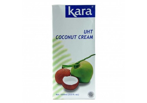 Kara UHT Natural Coconut Cream, 1L