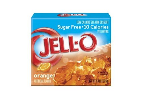 Jello Sugar Free Orange, 85g