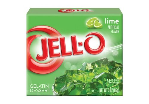Jello Lime, 85g