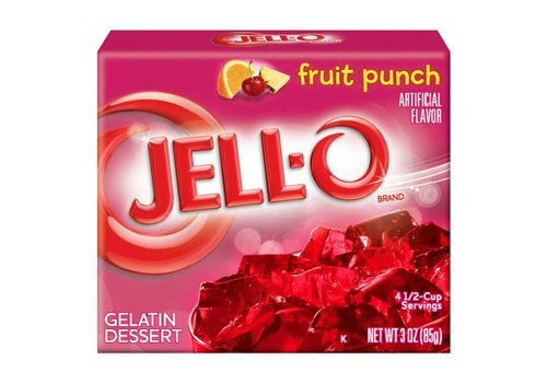 Jello Fruit Punch, 85g