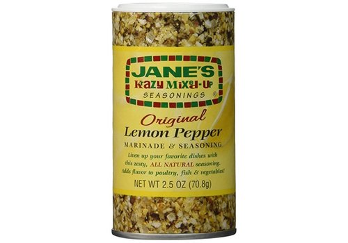 Jane's Krazy Lemon Pepper, 71g