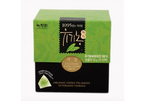 Nokchawon Organic Green Tea, 10x1g