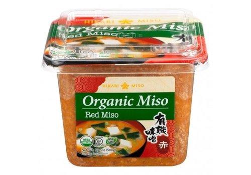 Hikari Organic Red Miso Paste, 500g