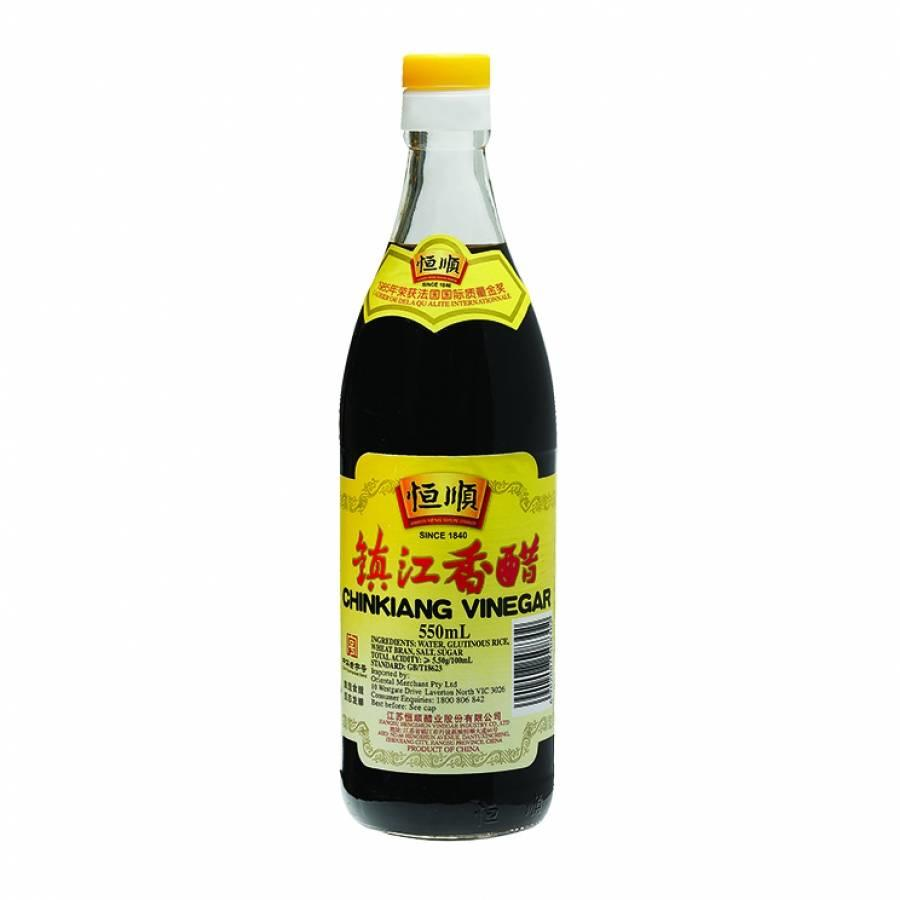 Chinkiang Black Rice Vinegar, 550 ml