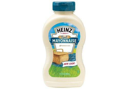 Heinz Real Mayonnaise, 340ml
