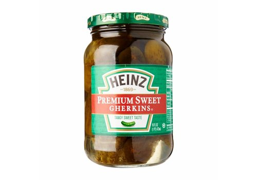 Heinz Premium Sweet Gherkins, 473ml