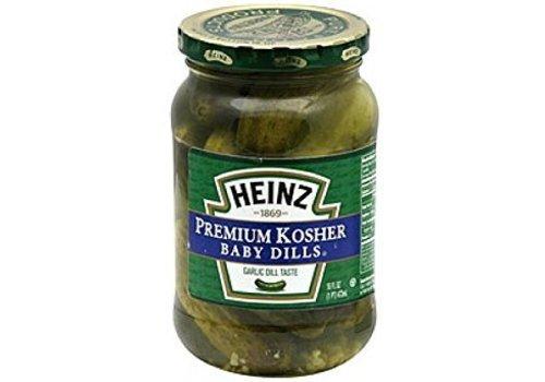 Heinz Kosher Baby Dills, 473ml