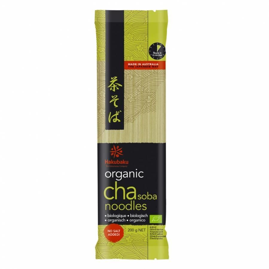 Organic Green Tea Noodles, 200g