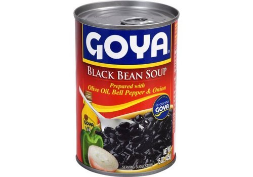 Goya Black Bean Soup, 425g