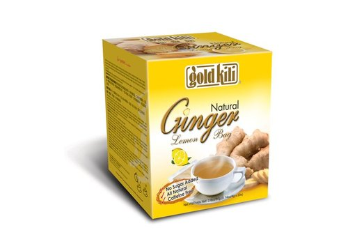 Goldkili Natural Ginger Lemon Bag, 80g