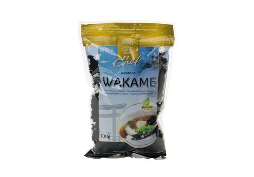 Golden Turtle Gedroogde Wakame, 100g