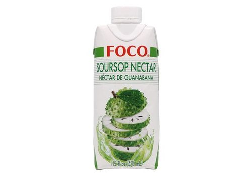 Foco Soursop Nectar, 330ml