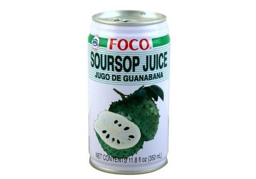 Foco Soursop Juice, 350ml