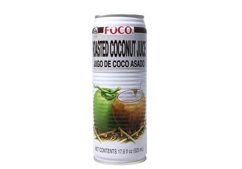 Foco Roasted Coconut Juice, 520ml