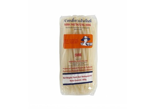 Rice Noodles 5mm, 400g