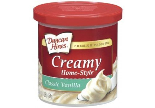 Duncan Hines Classic Vanilla Frosting, 454g