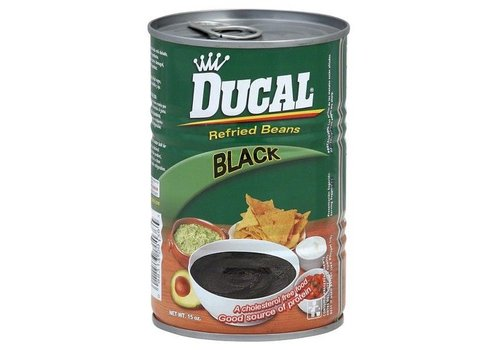 Ducal Refried Black Beans, 426g