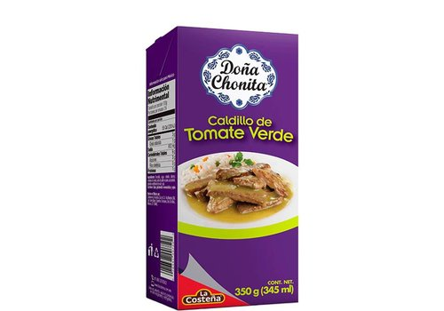 Dona Chonita Tomatillo Broth, 350g