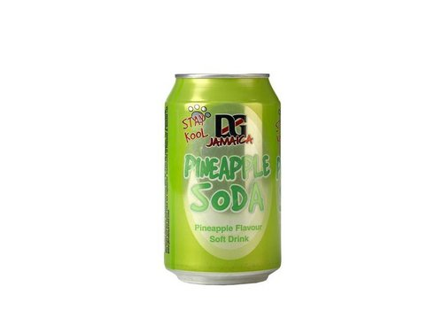 D&G Pineapple Soda, 330ml