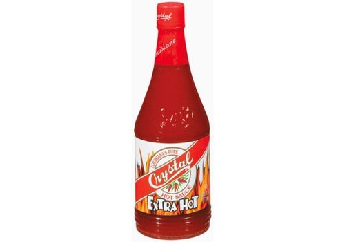 Crystal Extra Hot Hot Sauce, 178ml